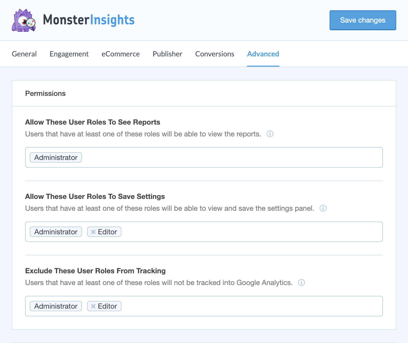 google-analytics-for-wordpress screenshot 5