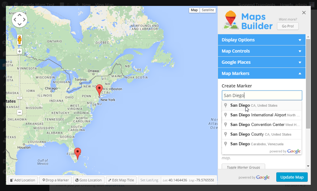 google-maps-builder screenshot 1