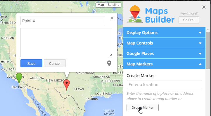 google-maps-builder screenshot 2
