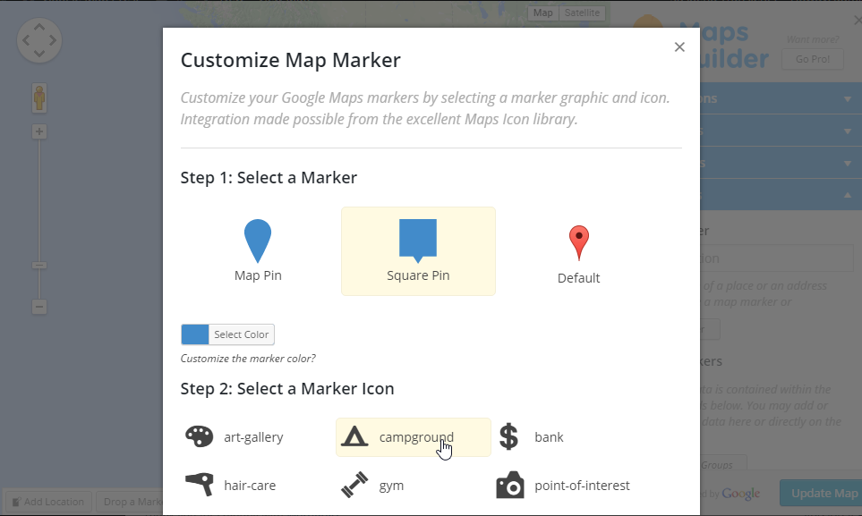 google-maps-builder screenshot 3