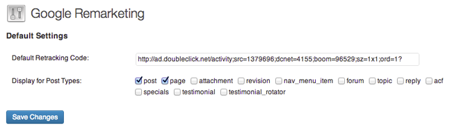 google-remarketing screenshot 1