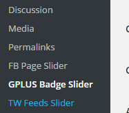 gplus-badge-slider screenshot 2