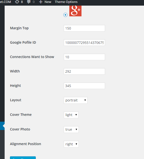 gplus-badge-slider screenshot 3