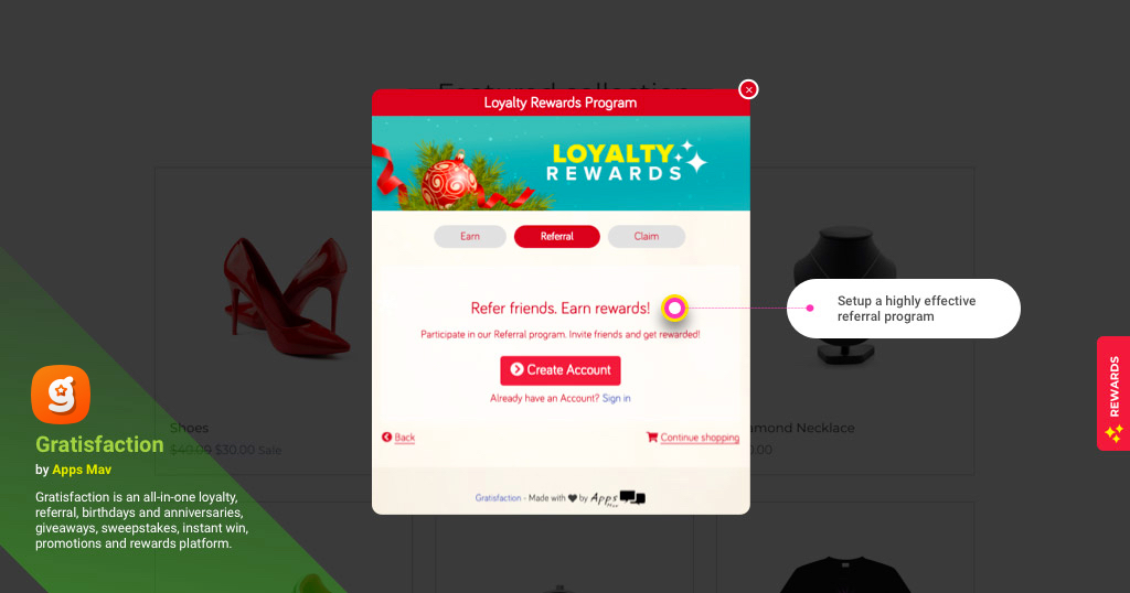 gratisfaction-all-in-one-loyalty-contests-referral-program-for-woocommerce screenshot 4