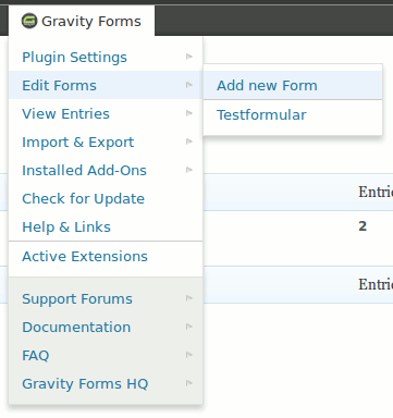 gravity-forms-toolbar screenshot 2