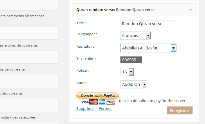 holy-quran-random-verse-multilanguage screenshot 1