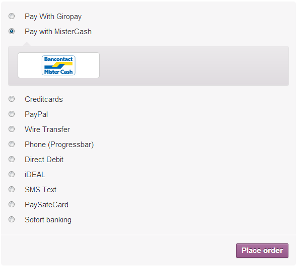 icepay-woocommerce-online-payment-module screenshot 4