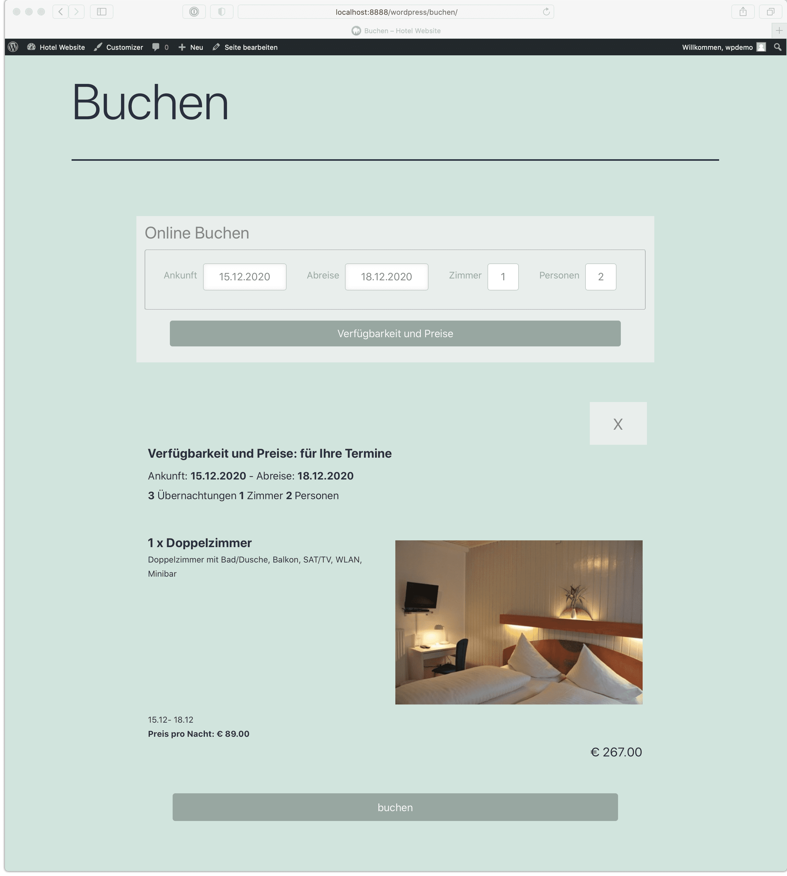 igumbi-online-booking screenshot 1