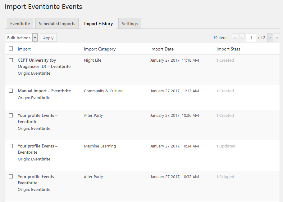 import-eventbrite-events screenshot 8