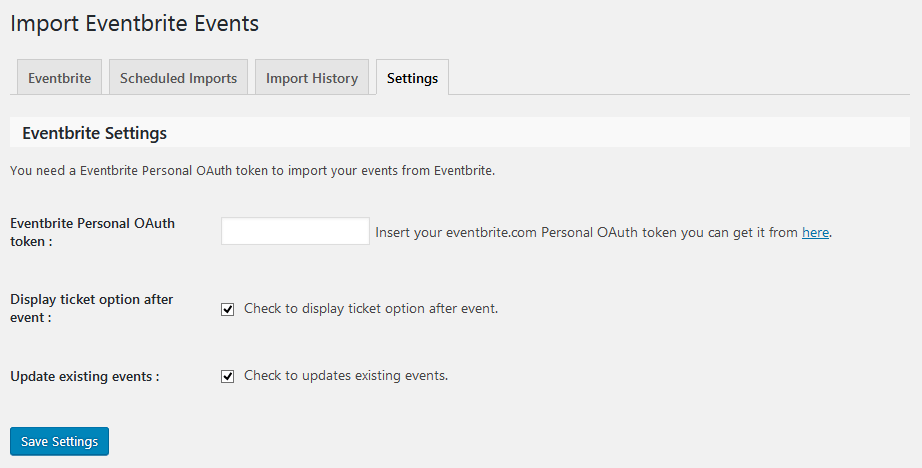 import-eventbrite-events screenshot 9