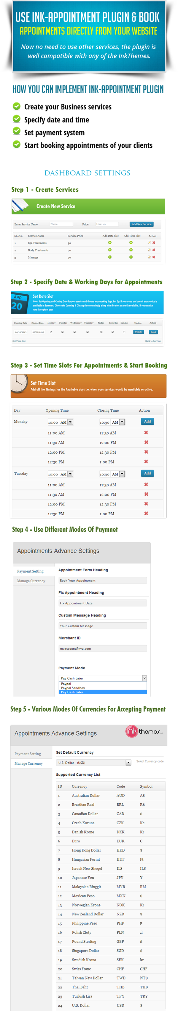 ink-appointment-booking screenshot 1