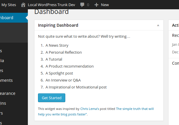 inspiring-dashboards screenshot 1