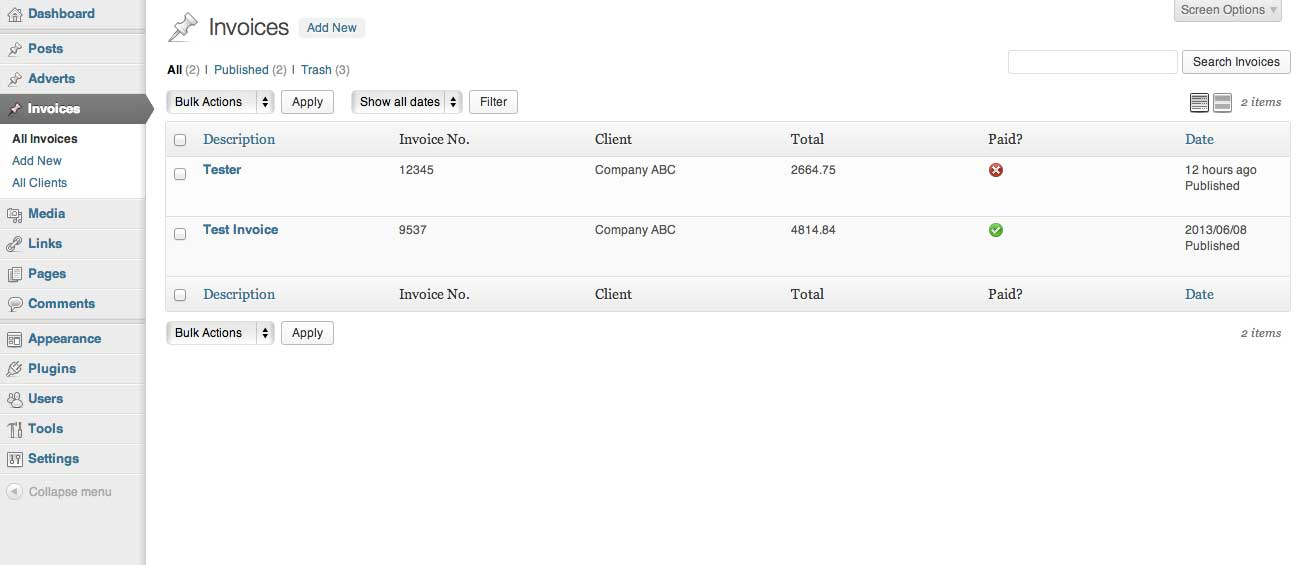 invoice-king-pro screenshot 2
