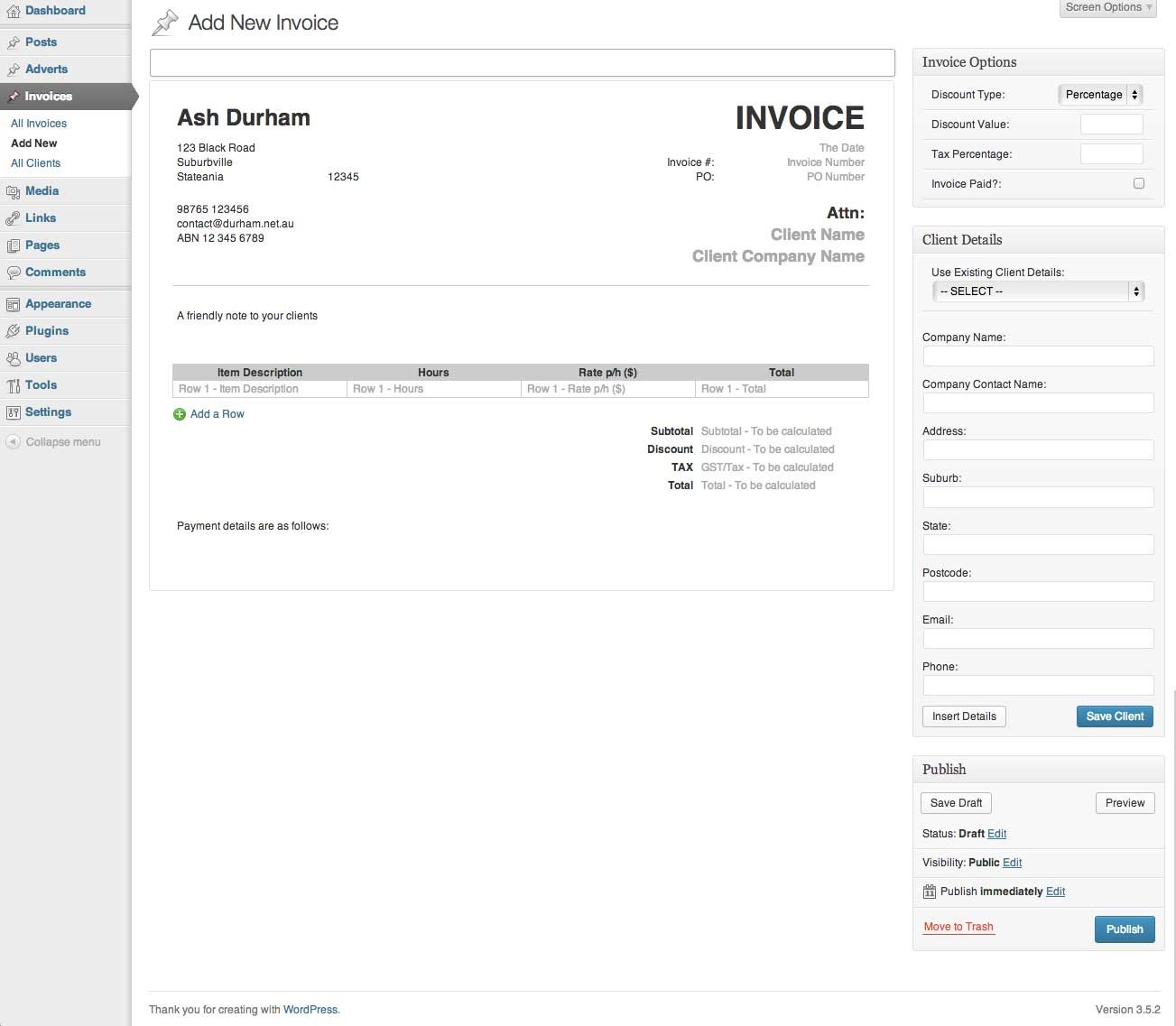 invoice-king-pro screenshot 3