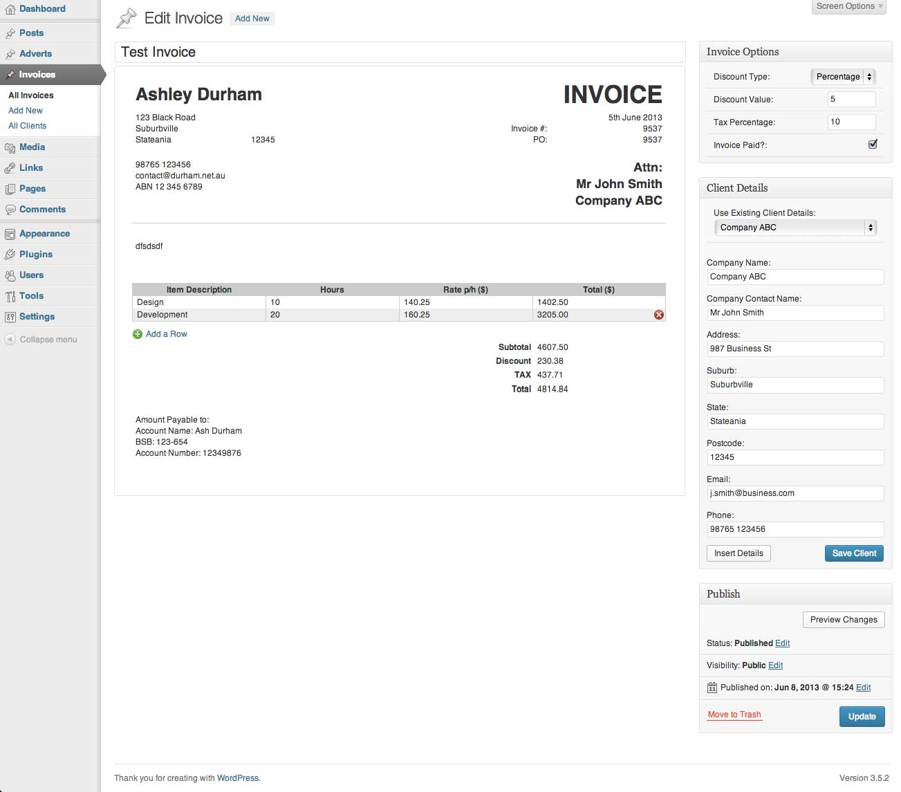 invoice-king-pro screenshot 4