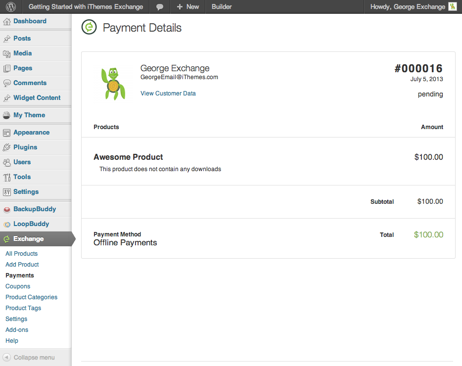 ithemes-exchange screenshot 6