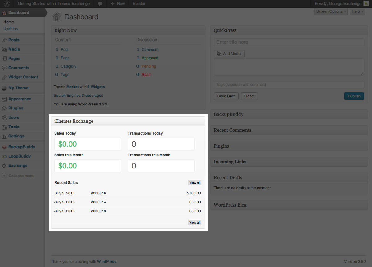 ithemes-exchange screenshot 7