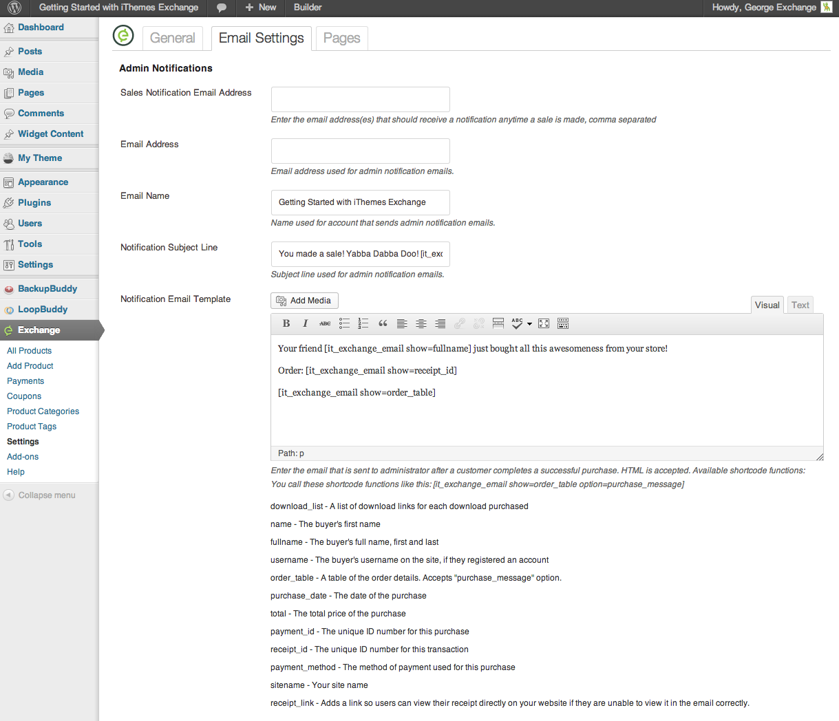 ithemes-exchange screenshot 9