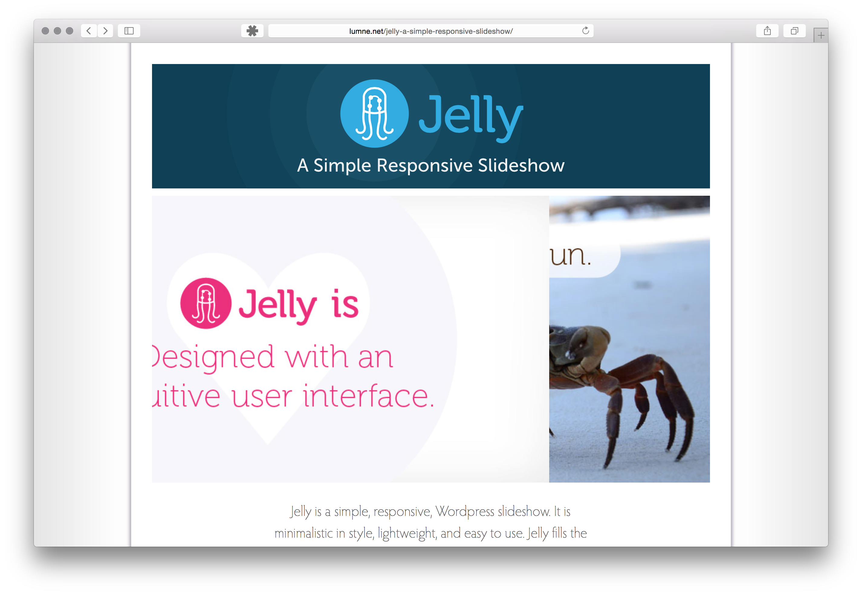 jelly screenshot 1