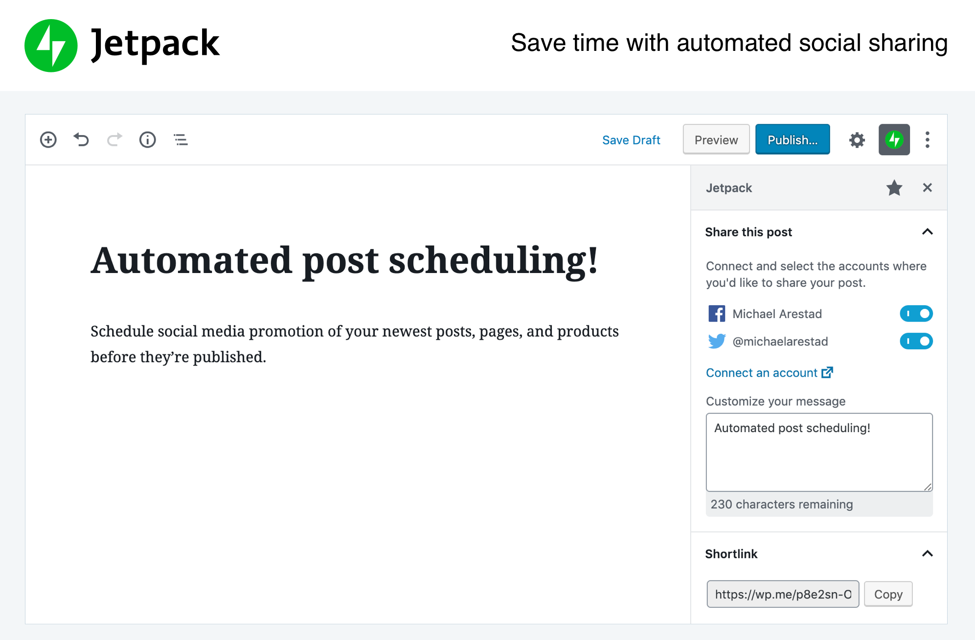 Jetpack by WordPress.com Screenshot