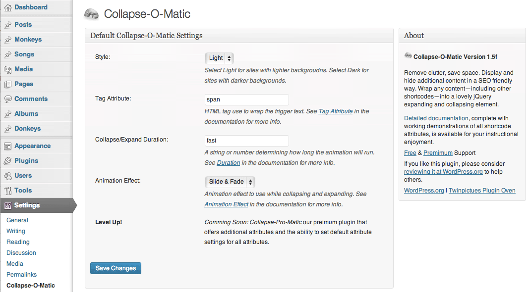 jquery-collapse-o-matic screenshot 3