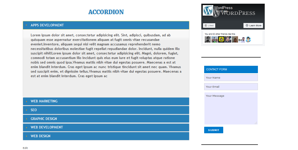 just-simple-accordions screenshot 4