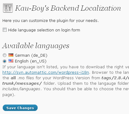 kau-boys-backend-localization screenshot 1