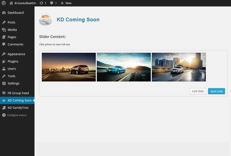kd-coming-soon screenshot 3