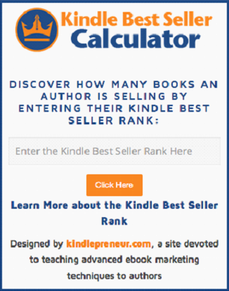 kindle-best-seller-calculator screenshot 1