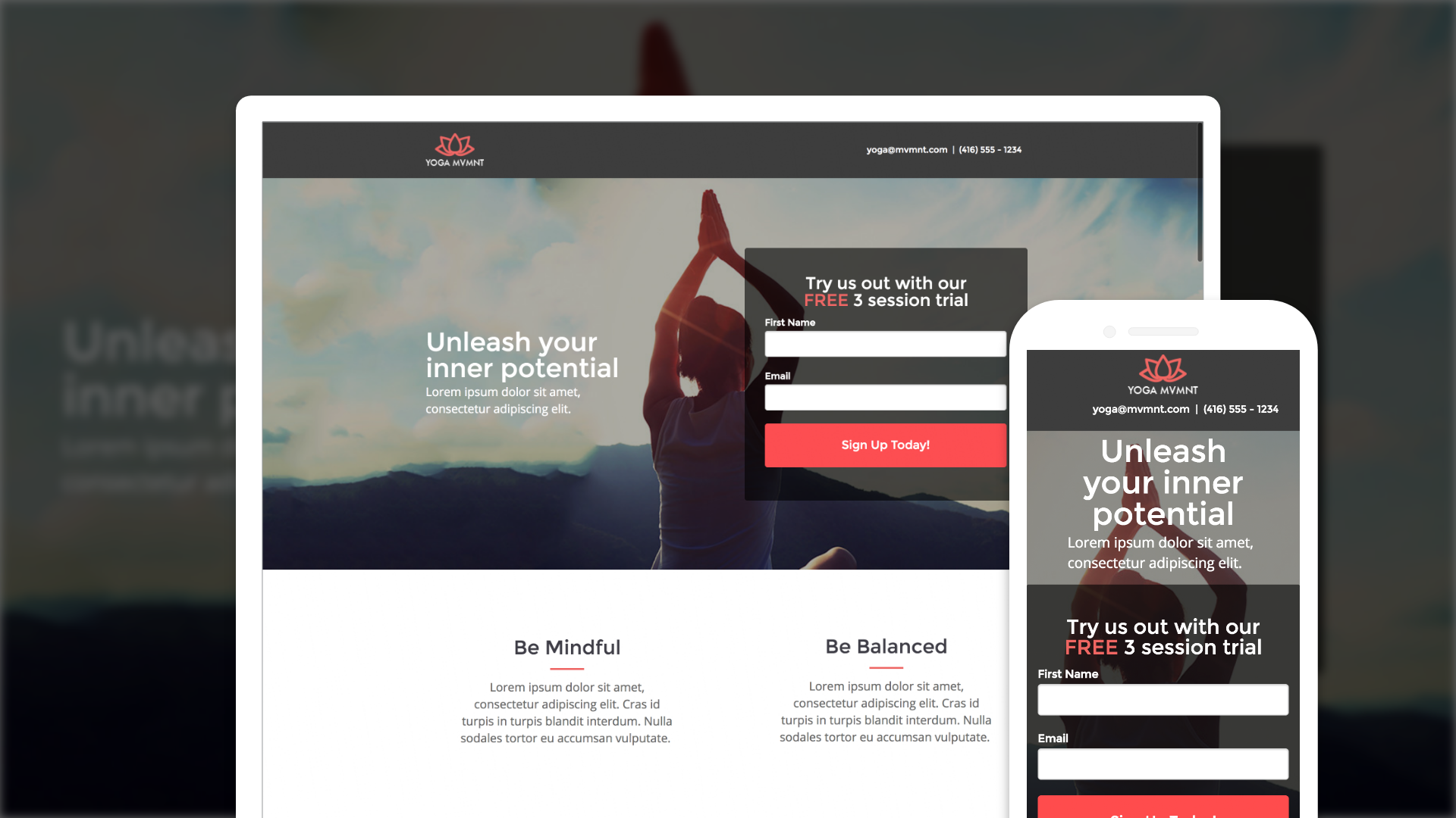 landing-pages-builder screenshot 1