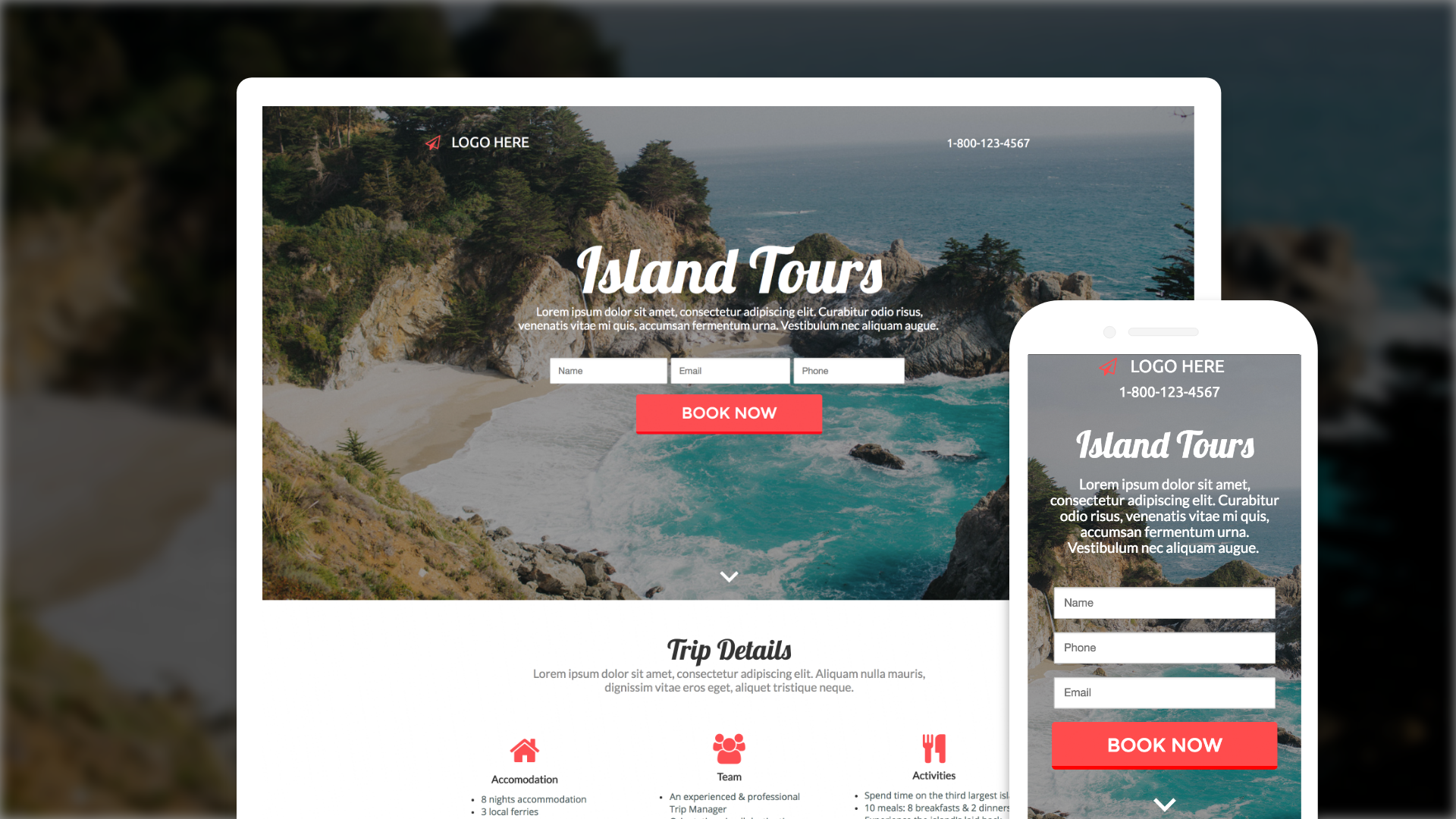 landing-pages-builder screenshot 3