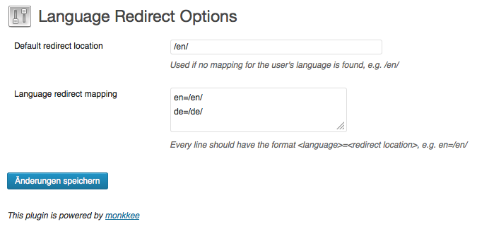 language-redirect screenshot 1