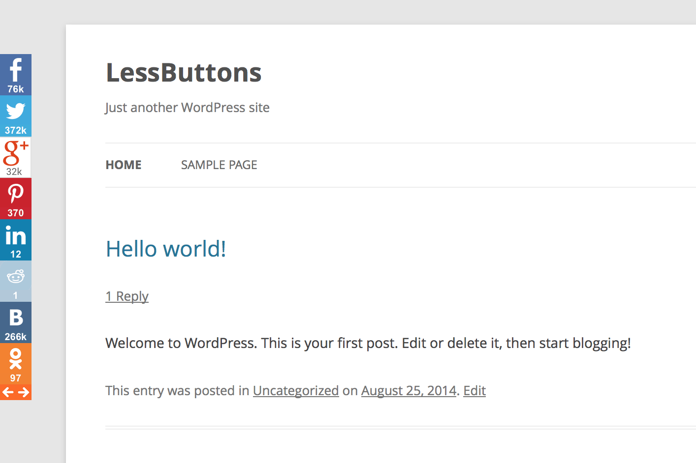 lessbuttons screenshot 2