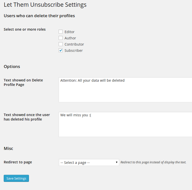 let-them-unsubscribe screenshot 1