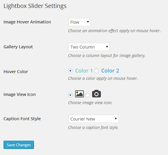 lightbox-slider screenshot 3