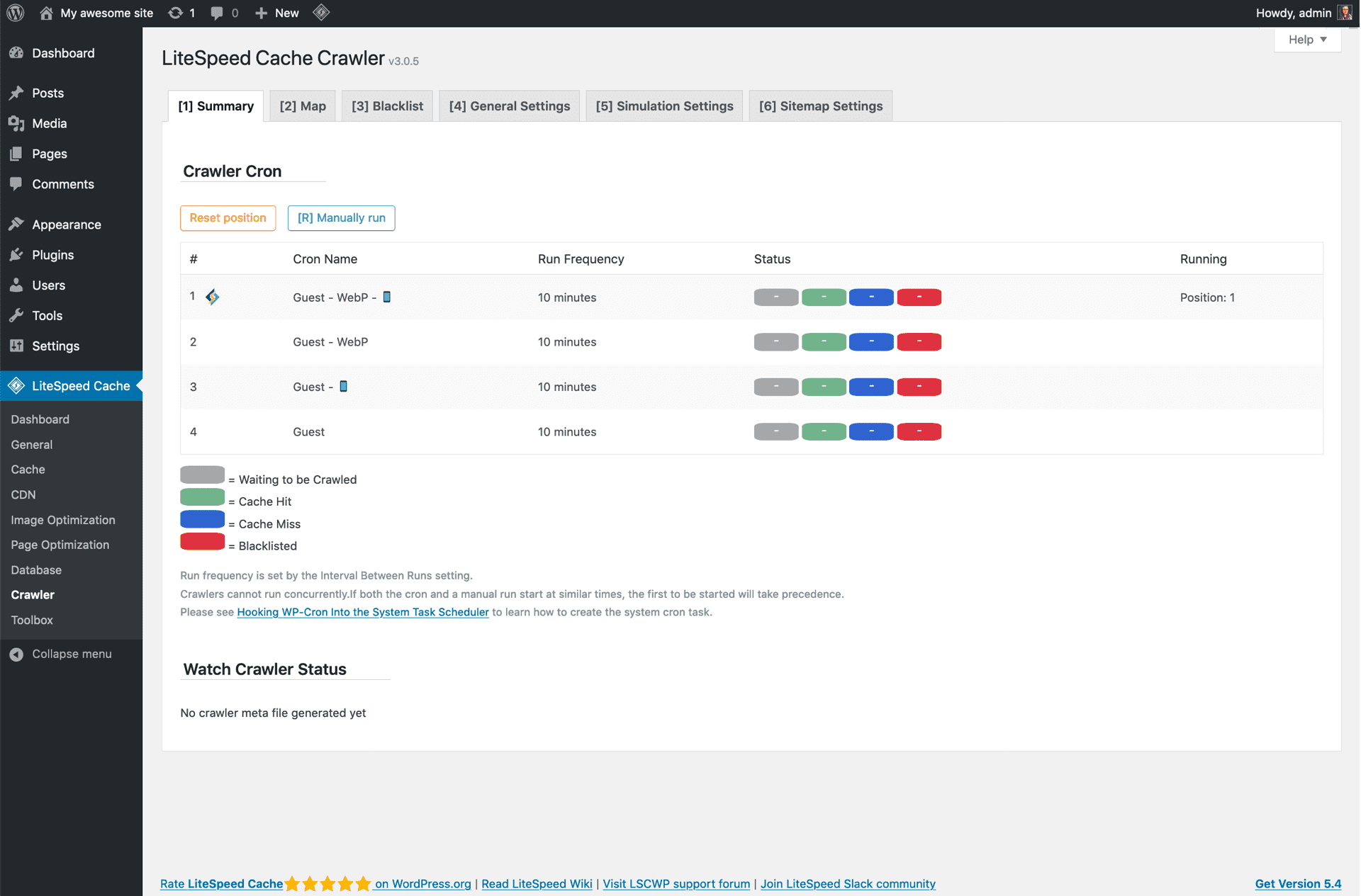 litespeed-cache screenshot 4