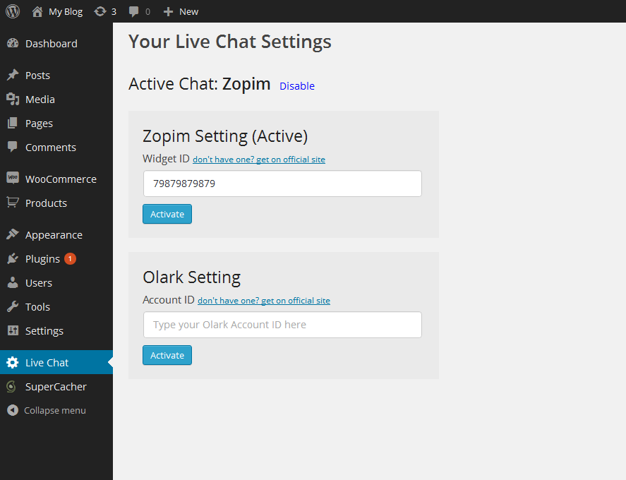 live-chats-for-woocommerce-all-in-one screenshot 1