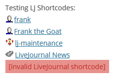 livejournal-shortcode screenshot 1