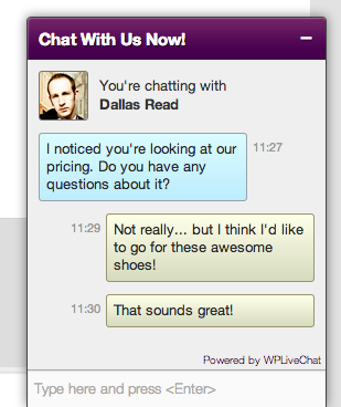 lively-chat-support screenshot 1