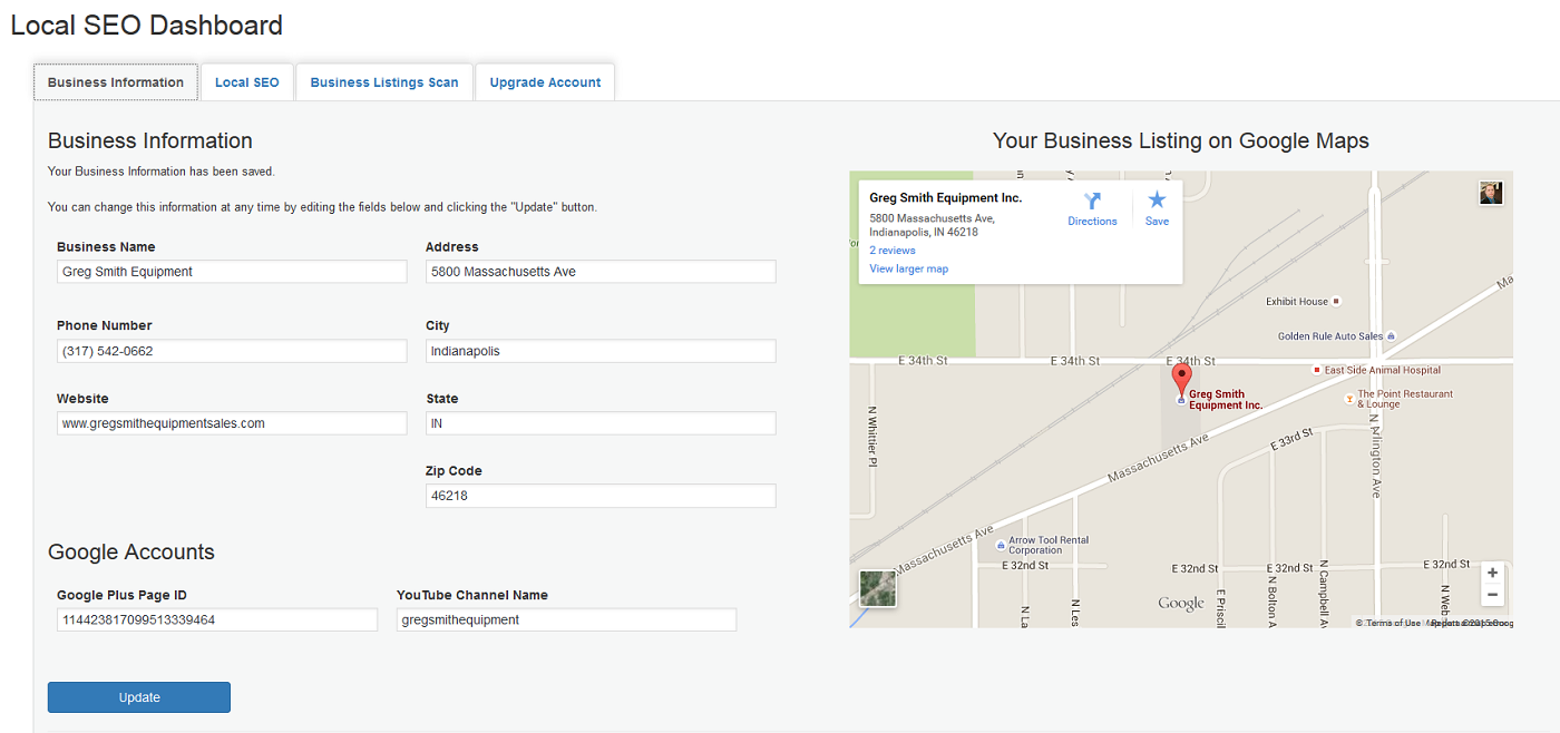 local-seo-and-business-listings screenshot 1