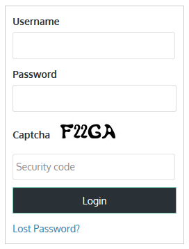 login-sidebar-widget screenshot 1