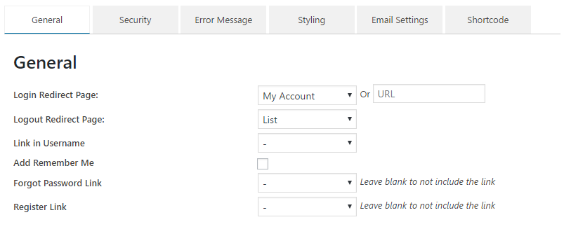 login-sidebar-widget screenshot 4