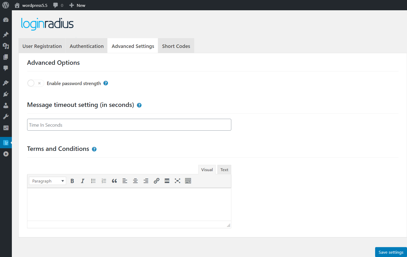 loginradius-for-wordpress screenshot 3