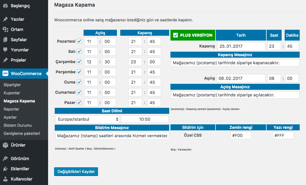 magaza-kapama screenshot 2