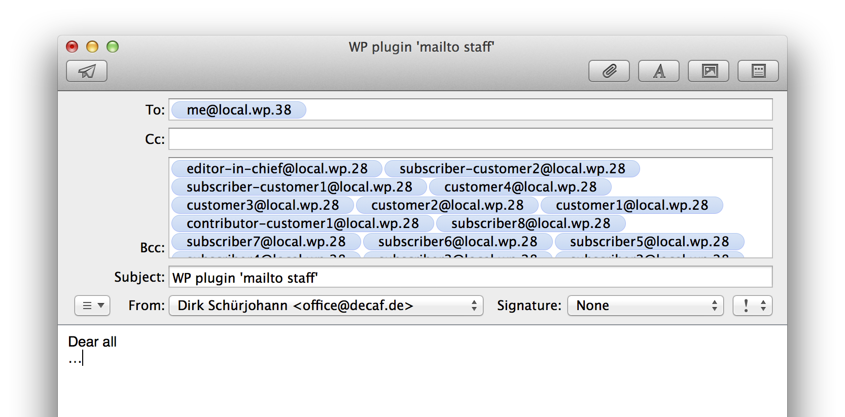 mailtostaff screenshot 4