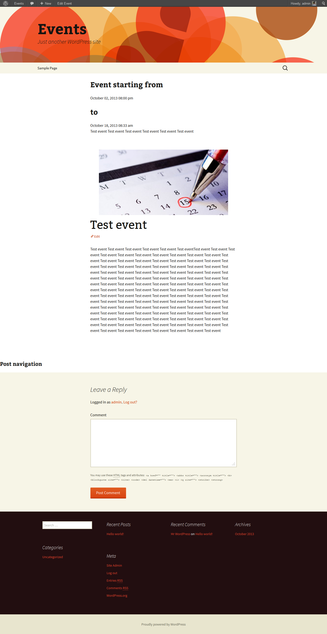 manags-events screenshot 7