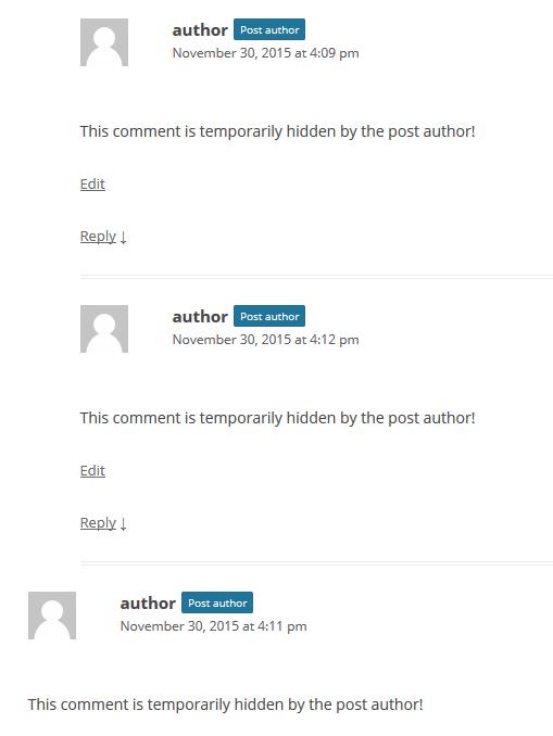 mask-comments screenshot 6