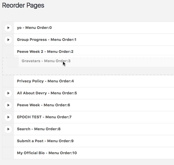 metronet-reorder-posts screenshot 1