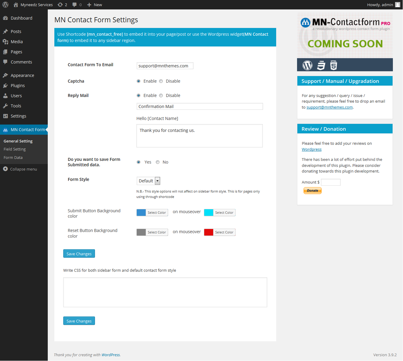 mn-contact-form screenshot 2
