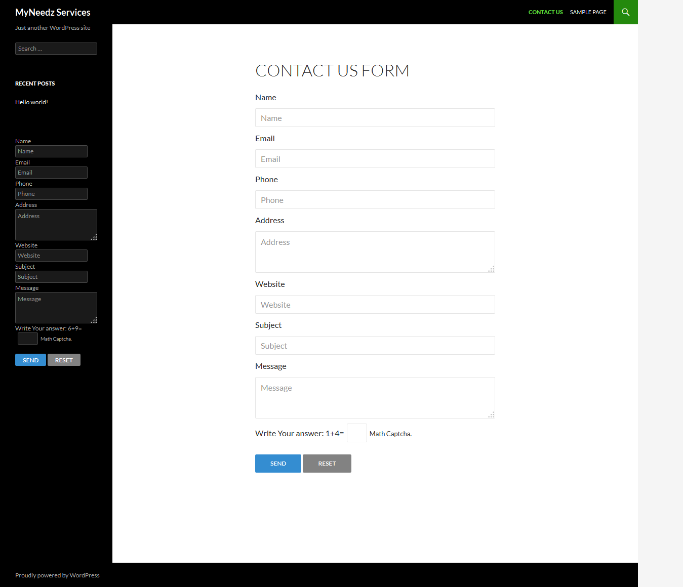 mn-contact-form screenshot 5